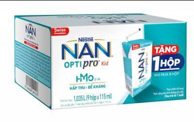 Sữa dinh dưỡng pha sẵn Nestlé NAN OPTIPRO Kid 115ml (Mua 8 tặng 1)