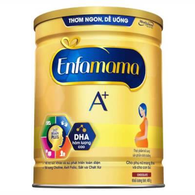 Sữa Enfamama A+ 400g hương chocolate
