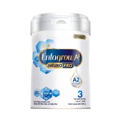 Sữa Enfagrow A2 NeuroPro số 3 800g (1 - 6 tuổi)