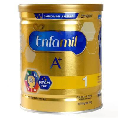 Sữa Enfamil A+ 1 400g (0-6 tháng)