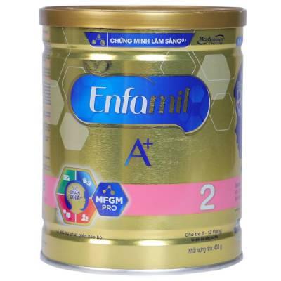 Sữa Enfamil A+ 2 400g (6-12 tháng)