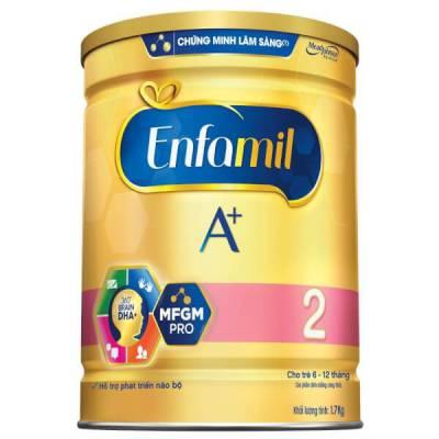 Sữa Enfamil A+ 2 1.7kg (6-12 tháng)