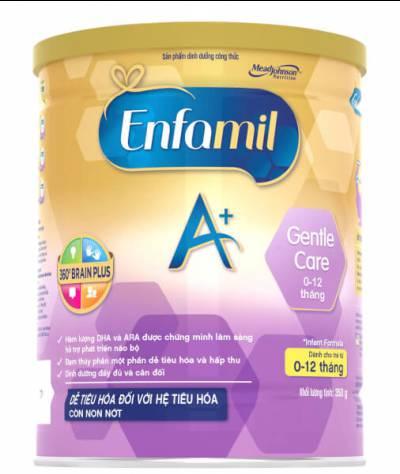 Sữa Enfamil A+ Gentle Care Infant Formula 350g (0-12 tháng)