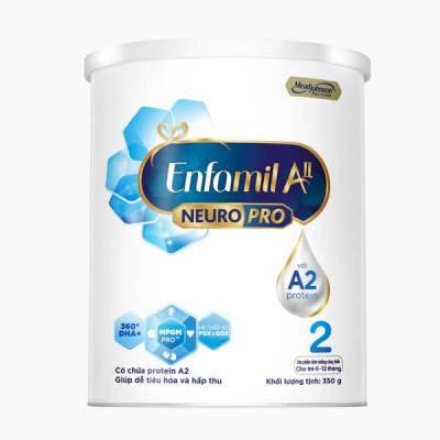 Sữa Enfamil A2 NeuroPro số 2 350g (Follow Up Formula, 6 - 12 tháng tuổi)