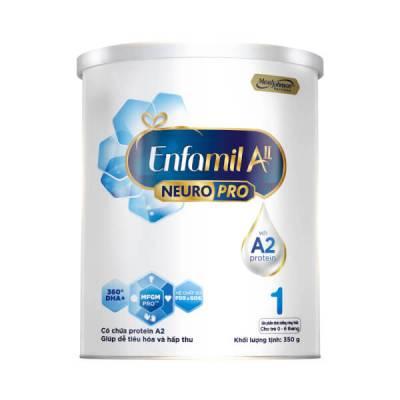 Sữa Enfamil A2 NeuroPro số 1 350g (Infant Formula, 0-6 tháng)