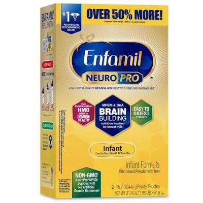 Sữa Enfamil NeuroPro Infant Formula 890g (0-12 tháng)