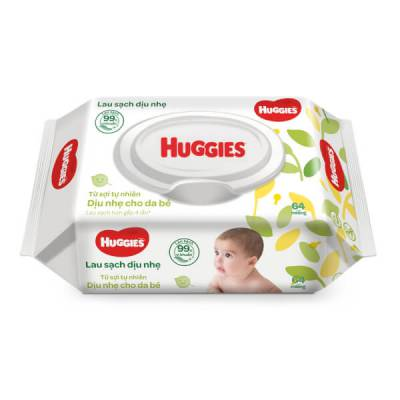 Khăn ướt Huggies 64 miếng
