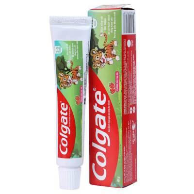 Kem đánh răng Colgate Tiger 40g bé từ 2-5 tuổi
