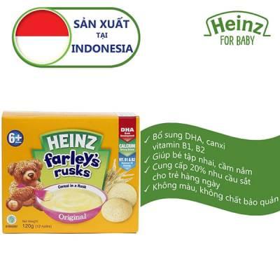 Bánh Qui Dành Cho Trẻ Em Heinz Farley Original 120g