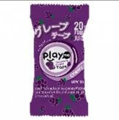 Kẹo dẻo cuộn Playmore vị nho nhật 21g