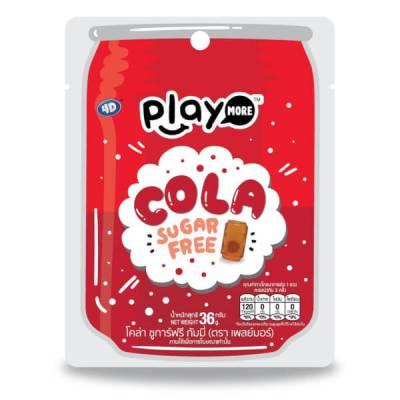 Kẹo dẻo vị Cola Playmore 36g