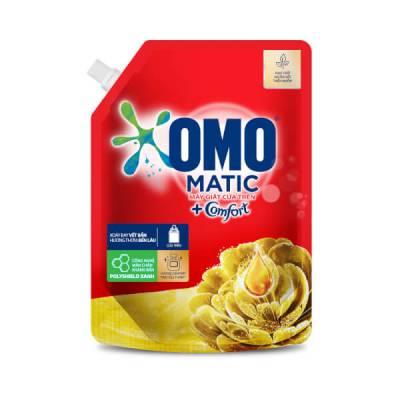 Nước Giặt OMO Matic Comfort Tinh dầu thơm Cửa trên 2.0kg
