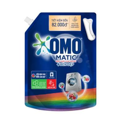 Nước Giặt OMO Matic Bền Đẹp Cửa trước 3.7kg
