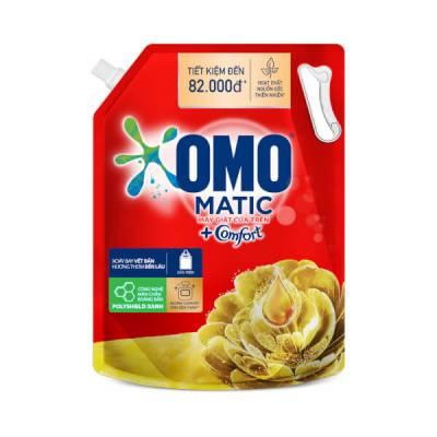 Nước Giặt OMO Matic Comfort Tinh dầu thơm Cửa trên 3.7kg