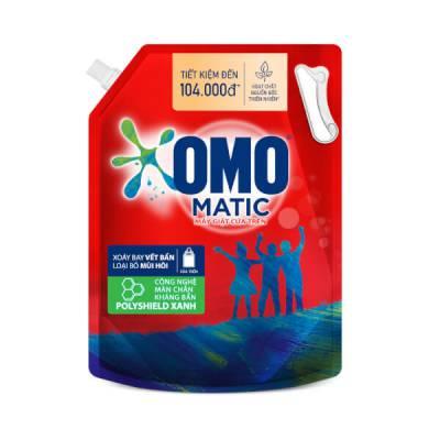 Nước Giặt OMO Matic Cửa trên túi 4kg