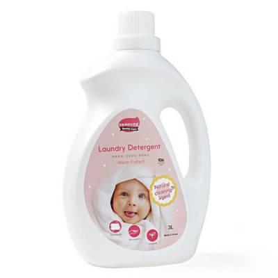 Nước giặt Hàn Quốc ConCung Gentle Care hương ngọt ấm, chai 3L