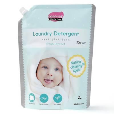Nước giặt Hàn Quốc ConCung Gentle Care hương tươi mát, túi 2L