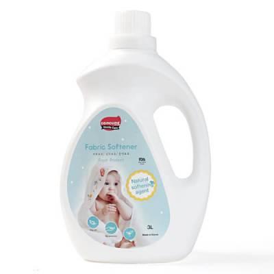 Nước xả vải Hàn Quốc ConCung Gentle Care hương tươi mát, chai 3L
