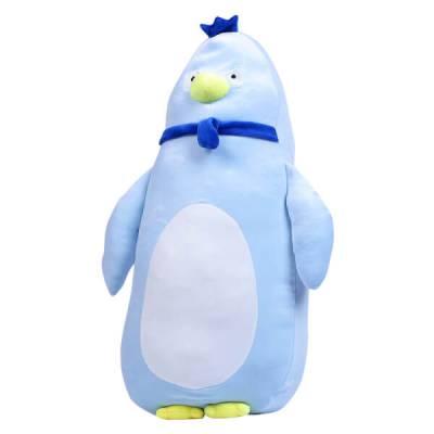 Thú nhồi bông gối ôm gà con xanh Toycity