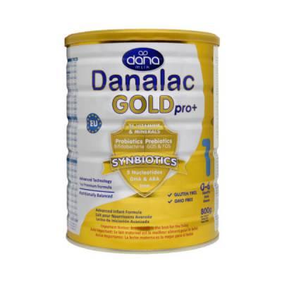 Sữa Danalac Gold Pro+ số 1 800g (0-6 tháng tuổi)