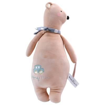 Thú bông gấu đeo nơ Metoo CY164115
