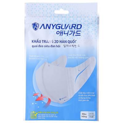 Khẩu trang AnyGuard (3 cái/ túi)