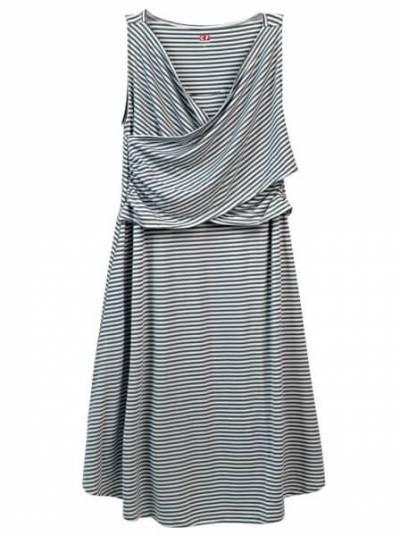 Đầm bầu CF W099002 Xanh đen