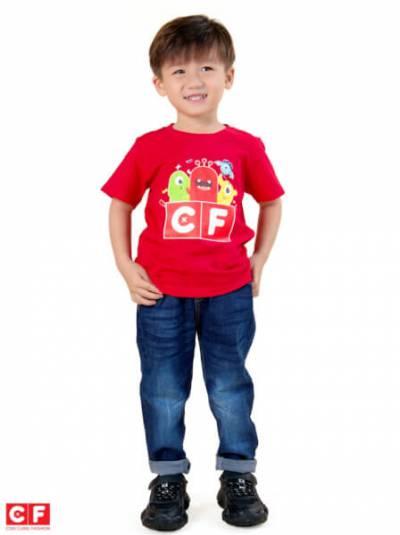 Áo thun tay ngắn CF B119012 Đỏ