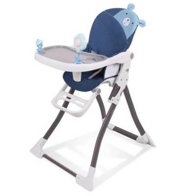 Ghế ngồi ăn chân cao Baby Pretty (xanh)