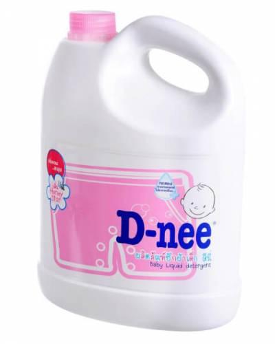 Dung dịch giặt quần áo D-nee 3L Hồng