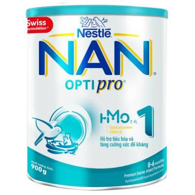 Sữa Nan Optipro 1 900g, HMO (0-6 tháng)