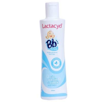 Sữa tắm gội trẻ em hàng ngày Lactacyd BB for baby 250ml