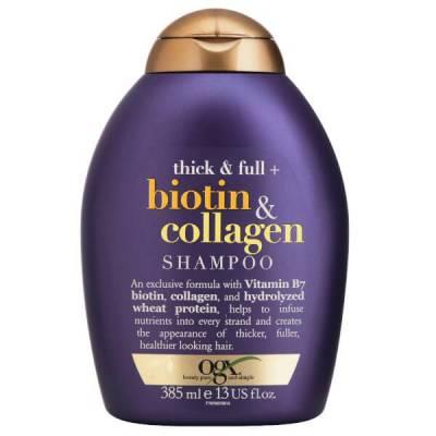 Dầu gội OGX Thick Full Biotin Collagen 385ml