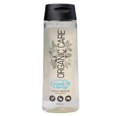 Dầu gội phục hồi tóc hư tổn Coco Organic care 400ml