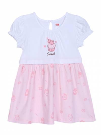 Đầm bé gái-BST bánh kem CF G0521005 (6-24M,Hồng)