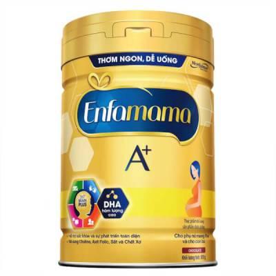 Sữa Enfamama A+ 870g hương chocolate