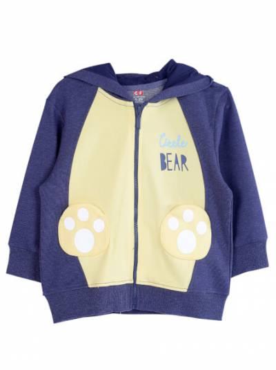 Áo khoác bé trai MRN CF B0321006 (1-3Y,Xanh)