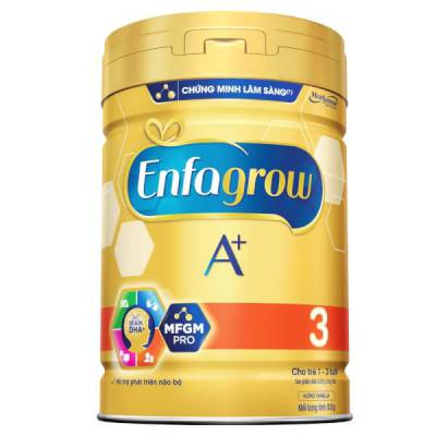 Sữa Enfagrow A+ 3 830g (1-3 tuổi)