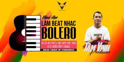 Tự Làm beat nhạc Bolero trên phần mềm Cubase - Đơn giản và hiệu quả cùng Tâm Vinh Producer