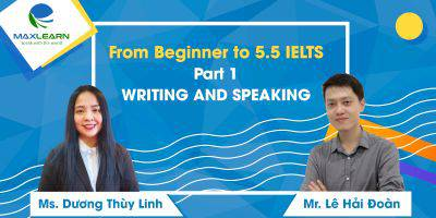 From Beginner to 5.5 IELTS Part 1-Writing and Speaking