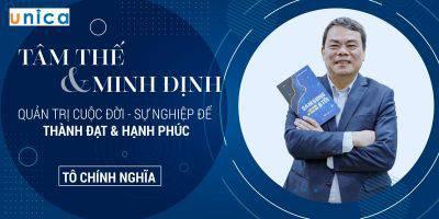 Tâm thế & Minh Định - Quản trị cuộc đời, sự nghiệp để thành đạt & hạnh phúc