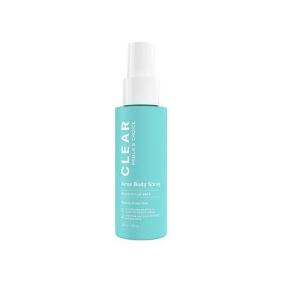 Paula's Choice Clear Acne Body Spray – Xịt điều trị mụn toàn thân – 118ml