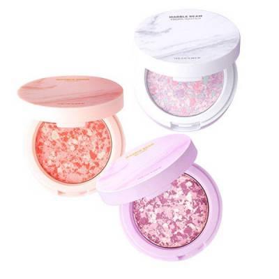Phấn Má Hồng The Face Shop Marble Beam Blush Highlighter ( 7gr)