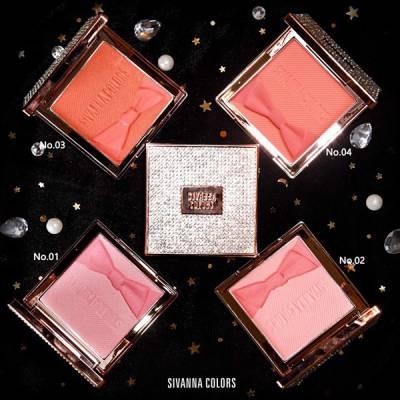 Má Hồng Sivanna Colors Diamond Rose Essence Oil Blush HF 4027