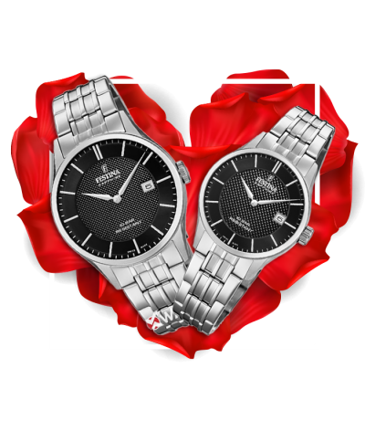 Đồng hồ đôi Festina F20005/4 + F20006/4