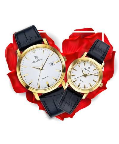 Đồng hồ đôi OP OP130-06MK-GL-T + OP130-06LK-GL-T