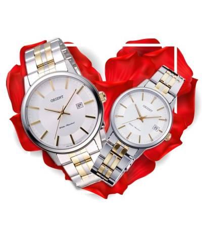 Đồng hồ đôi Orient FUNG8002W0 + FUNG7002W0