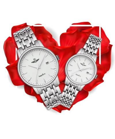 Đồng hồ đôi SRWatch SG1072.1102TE + SL1072.1102TE