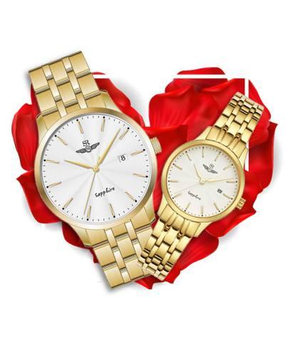 Đồng hồ đôi SRWatch SG1076.1402TE + SL1076.1402TE