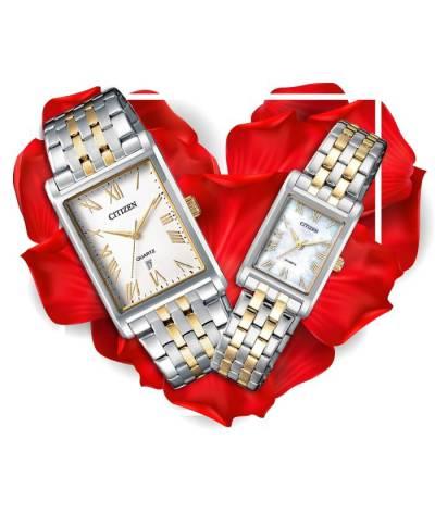 Đồng hồ đôi Citizen BH3004-59D + EJ6124-53D